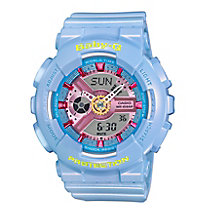 Baby-G Candy Ladies' Blue Resin Strap Watch - Product number 5267137