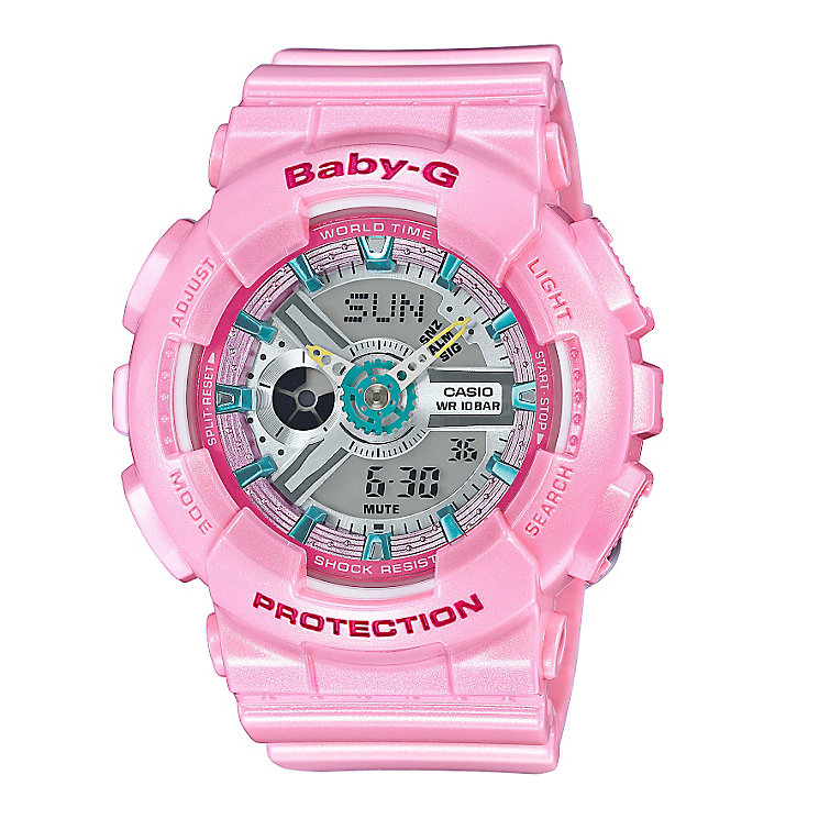 Casio Baby-G Candy Ladies' Pink Resin Strap Watch - Product number 5267145
