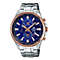Casio Edifice Men's Blue Dial Stainless Steel Bracelet Watch - Product number 5267226