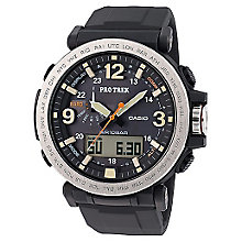 Casio Men's Protrek Black Chronograph Watch - Product number 5267234