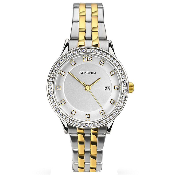 Sekonda Harmony Ladies' Two-Tone Bracelet Watch - Product number 5267323