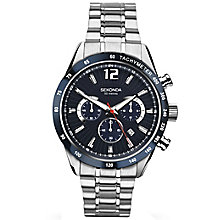 Sekonda Men's Black Dial Stainless Steel Bracelet Watch - Product number 5267366