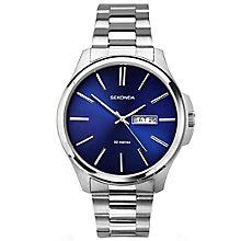 Sekonda Men's Blue Dial Stainless Steel Bracelet Watch - Product number 5267404