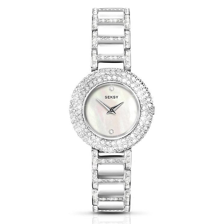 Seksy Ladies' Cream Bracelet Watch - Product number 5267498