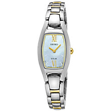 Seiko Solar Ladies' Two Colour  Bracelet Watch - Product number 5267587
