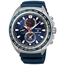 Seiko Prospex World Time Men's Stainless Steel Strap Watch - Product number 5267609