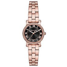 Michael Kors Ladies' Rose Gold Tone Strap Watch - Product number 5268567