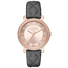 Michael Kors Ladies' Rose Gold Tone Strap Watch - Product number 5268575