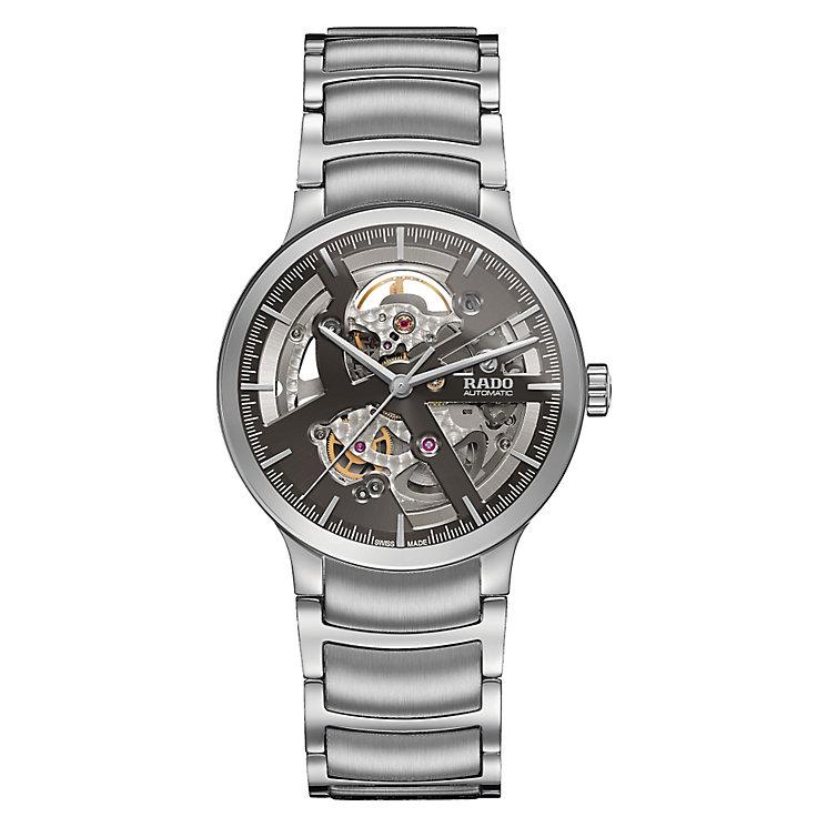 Rado Centrix Men's Stainless Steel Skeleton Bracelet Watch - Product number 5268613