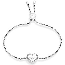 Michael Kors Stainless Steel Heart Bracelet - Product number 5268621
