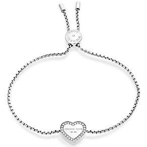 Michael Kors Stainless Steel Heart Bracelet - Product number 5268621