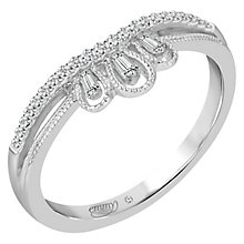 Emmy London Platinum 0.12 Carat Diamond Ring - Product number 5271207