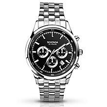 Sekonda Gents Sterling Silver Bracelet Watch - Product number 5272416