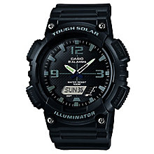 Casio Men's Black Resin Strap Watch - Product number 5274052