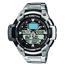 Casio Men's Sports Gear Alarm Chronograph Watch - Product number 5274192