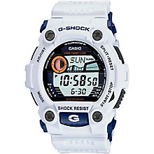 G-Shock White Resin Strap Digital Watch - Product number 5274354