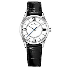 Zenith Elite Ladies' Stainless Steel Strap Watch - Product number 5275423