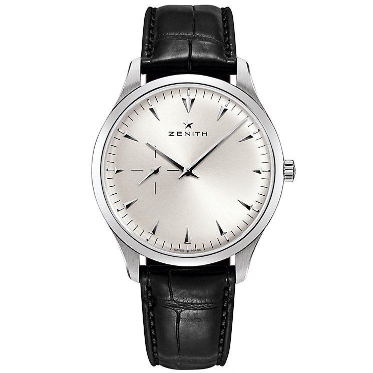 Zenith Elite Ultra Thin Men's Stainless Steel Strap Watch - Product number 5275490