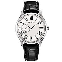Zenith Elite Ultra Thin Men's Stainless Steel Strap Watch - Product number 5275504