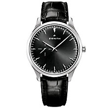Zenith Elite Ultra Thin Men's Stainless Steel Strap Watch - Product number 5275512