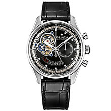 Zenith El Primero Men's Stainless Steel Strap Watch - Product number 5275601