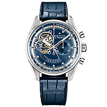 Zenith Charles Vermont Men's Stainless Steel Strap Watch - Product number 5275628