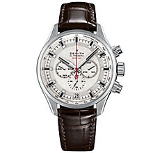 Zenith El Primero Sport Men's Stainless Steel Strap Watch - Product number 5275725