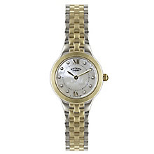 Rotary Ladies' Gold Plated Two Tone Bracelet Watch - Product number 5276691