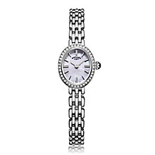 Rotary Ladies' Stainless Steel Oval Mother Of Pearl Watch - Product number 5276721