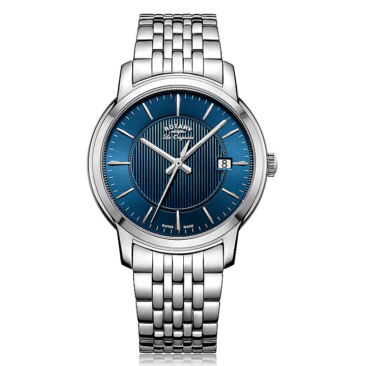 Rotary Gent's Stainless Steel Bracelet Watch - Product number 5276934