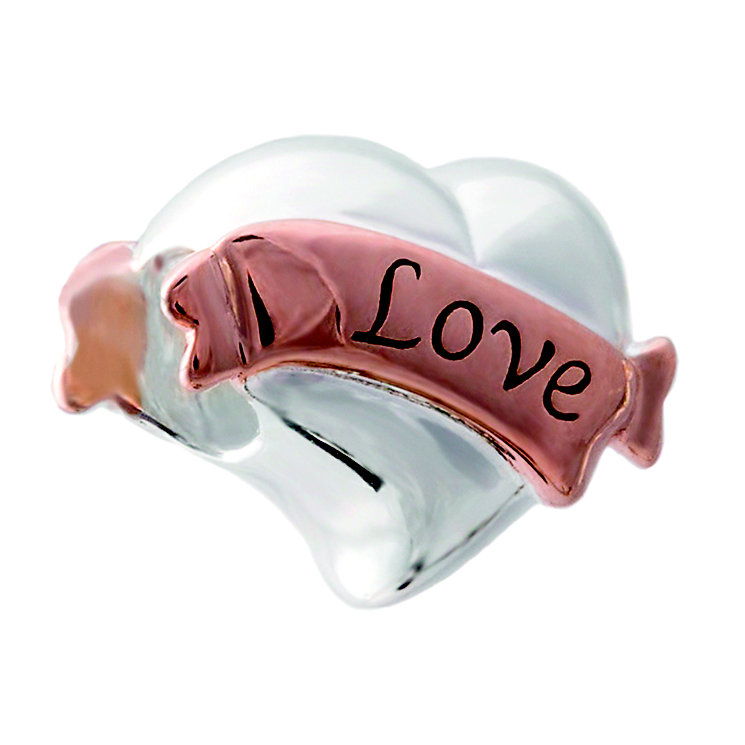 Chamila Sterling Silver Love Banner Bead - Product number 5277582