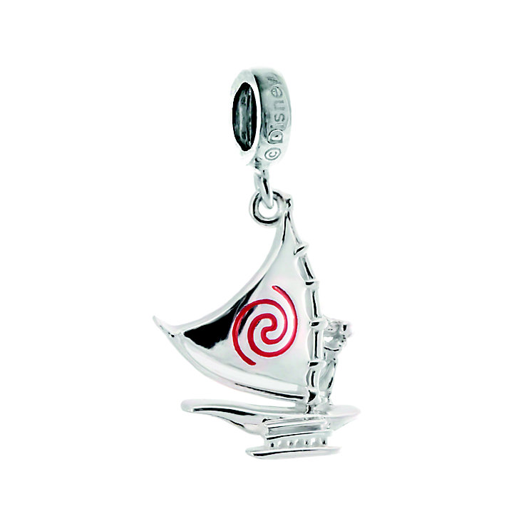 Chamilia Disney Moana Sterling Silver Set Sail Charm - Product number 5277639