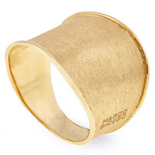 Marco Bicego 18ct Yellow Gold Lunaria Wider Ring - Product number 5279577