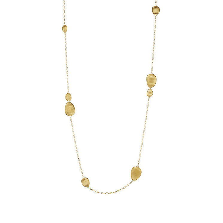 Marco Bicego 18ct Yellow Gold Lunaria Necklace - Product number 5279739
