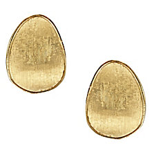 Marco Bicego 18ct Yellow Gold Lunaria Stud Earring - Product number 5279747