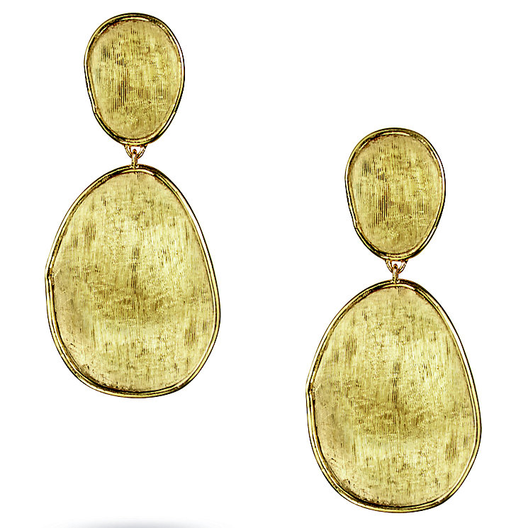 Marco Bicego 18ct Yellow Gold Lunaria Drop Earring - Product number 5279755