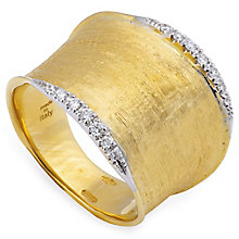 Marco Bicego 18ct Yellow Gold Lunaria 14pt Diamond Ring - Product number 5279925