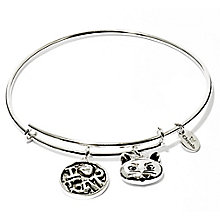 Chrysalis  Rhodium plated I love My Cat Bangle - Product number 5282047