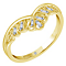 Emmy London 18ct Gold 0.06 Carat Diamond Set Ring - Product number 5283663