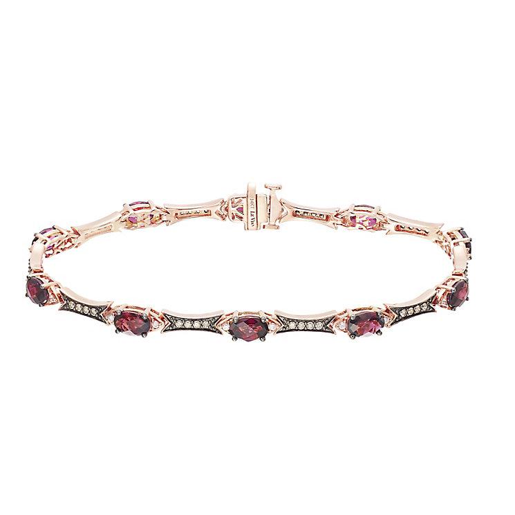 Le Vian 14ct Strawberry Gold Rhodolite Garnet Bracelet - Product number 5289017