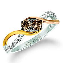 Le Vian 14ct Vanilla Strawberry & Honey Gold Diamond Ring - Product number 5289114