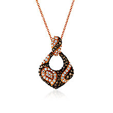 Le Vian 14ct Strawberry Gold Diamond Iconic Pendant - Product number 5289211