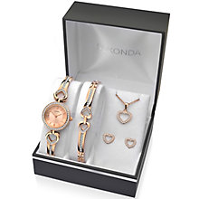 Sekonda Ladies' Bracelet Watch, Bracelet, Pendant & Earrings - Product number 5291704