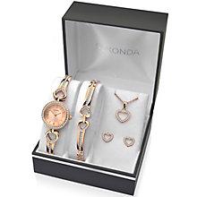 Sekonda Ladies' Bracelet Watch, Bracelet, Pendant & Earrings - Product number 5291704