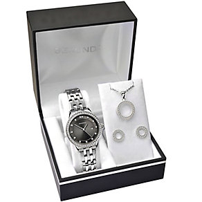 Sekonda Ladies' Bracelet Watch, Pendant & Stud Earrings - Product number 5291712