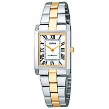 Lorus Ladies' 2 Colour Stainless Steel Bracelet Watch - Product number 5292840