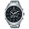 Pulsar Men's World Time Stainless Steel Bracelet Watch - Product number 5293014