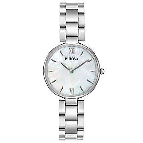 Bulova Ladies' Stainless Steel Bracelet Watch - Product number 5293049