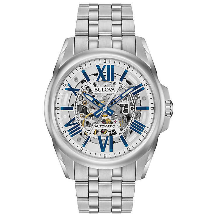 Bulova Men's Automatic Stainless Steel Bracelet Watch - Product number 5293170