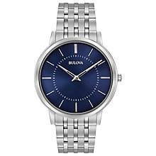 Bulova Men's Ultra Slim Stainless Steel Bracelet Watch - Product number 5293189